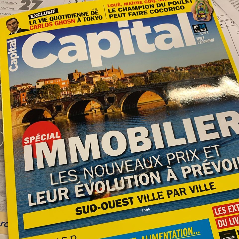 Carel dans les pages de Capital